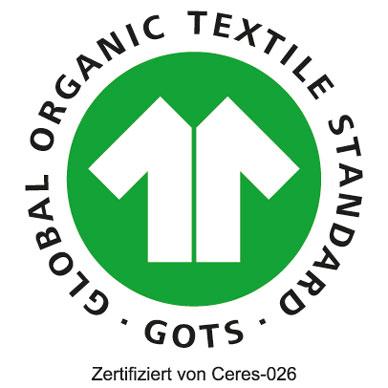 Logo von GOTS (Global Organic Textile Standard)