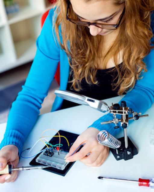 Prüfen eines elektronischen Bauteils