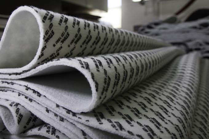 Bedruckte Textilbahn